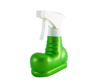 Flaschenspray für kosmetische Sahne Lizenzfreies Stockfoto