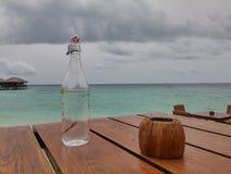 Flaschenwasser Stockbild