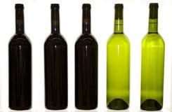 Flaschenwein-Getränkgaststätte Stockfotografie