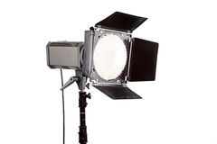 Flasf dello studio Fotografia Stock