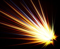 Flash abstract background Royalty Free Stock Photo