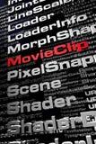 Flash. ActionScript Stock Images