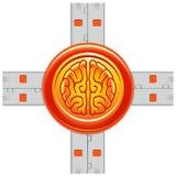 Flash-back royalty-vrije illustratie