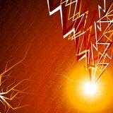 Flash background. Stock Photo