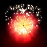 Flash Blast Royalty Free Stock Images