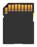 Flash card Royalty Free Stock Image