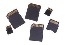 Flash cards Royalty Free Stock Photos
