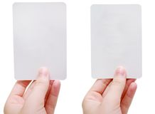 Flash cards Royalty Free Stock Image