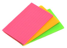Blank Flash Cards Stock Images - Image: 23137204