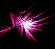 Flash de la abstracción Foto de archivo libre de regalías