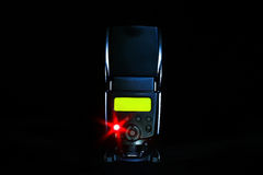 Flash della macchina fotografica digitale Fotografie Stock Libere da Diritti