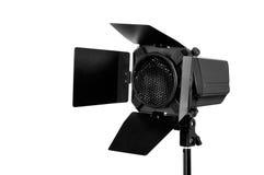 Flash do estúdio fotografia de stock