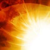 Flash do sol ilustração do vetor