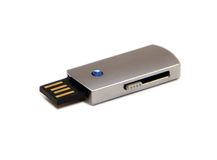Flash Drive. USB for storing data Royalty Free Stock Images