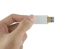 Flash drive. Adapter background drive data Stock Photo