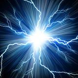 Flash eléctrico stock de ilustración