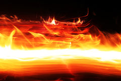 Flash fire Stock Images
