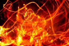 Flash fire royalty free illustration
