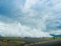 Flash Fire Jet Truck Stock Image