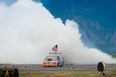 Flash Fire Jet Truck Royalty Free Stock Photography