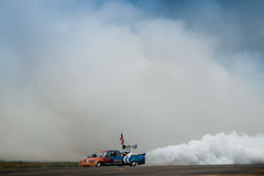 Flash Fire Jet Truck Royalty Free Stock Image