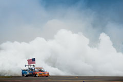 Flash Fire Jet Truck Stock Photo