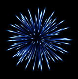 Flash fireworks on black background. On the image  is presented flash fireworks on black background Royalty Free Stock Image