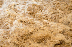 Flash flood background in the rainy season after storm out Stock Photography