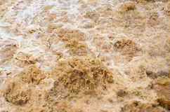 Flash flood background in the rainy season after storm out Stock Image
