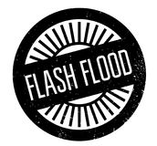 Flash Flood rubber stamp Stock Photo