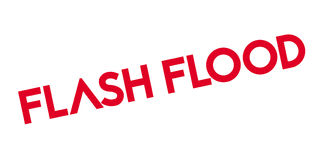 Flash Flood rubber stamp Royalty Free Stock Photos