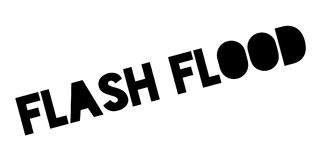 Flash Flood rubber stamp Royalty Free Stock Photography