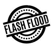 Flash Flood rubber stamp Royalty Free Stock Photo