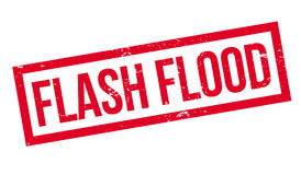Flash Flood rubber stamp royalty free illustration