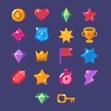 Flash Game Resources Set Royalty Free Stock Photo