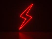 Flash - insegne al neon di serie Fotografie Stock Libere da Diritti