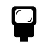 flash ligh isolated icon  design Stock Images