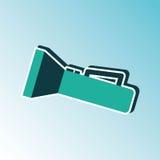 flash light icon  design Royalty Free Stock Photos