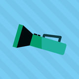 flash light icon  design Royalty Free Stock Images