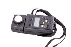 Flash light meter for photography stock images