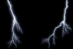 Flash lightning Royalty Free Stock Photography
