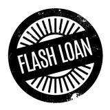 Flash Loan rubber stamp Royalty Free Stock Image