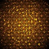 Flash luminosi dell'oro Fotografie Stock