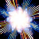 Flash luminoso illustrazione di stock