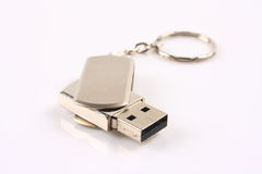 Flash memory disk Stock Image