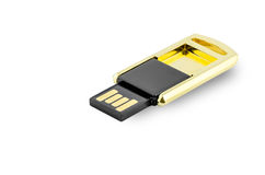 Flash memory storage device Stock Image