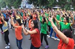 Flash mob Stock Photos