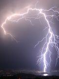Flash nella notte Fotografia Stock Libera da Diritti