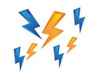 Flash power thunder illustration vector. Flash power thunder illustration vector template vector illustration