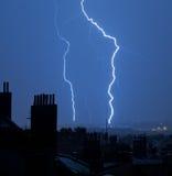 Flash in Prague Stock Photo